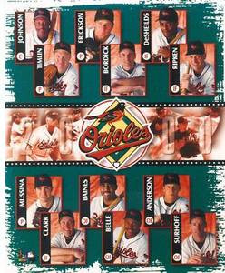 Baltimore Orioles 2000 Team Photo