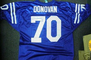 Baltimore Colts Art Donovan Autograph Jersey Auto