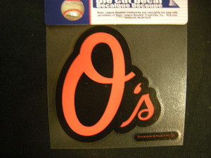 Baltimore Orioles Mini Die Cut Decal