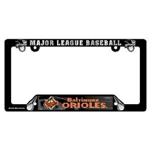 Baltimore Orioles Black License Frame