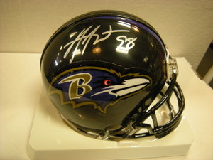 Anthony Weaver Ravens Auto Mini Helmet