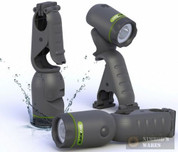 Blackfire WaterProof Clamp Flashlight Pivot/Stand/Float 75/170 Lumens BBM905