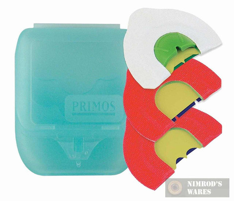 Primos 1214 Cutter 3 Pack Turkey Call w/ Case Designed to Fit Mouth