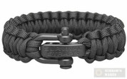 Survival Bracelet Regular Duty LARGE Black 201101239