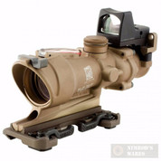 Trijicon ACOG 4x32 Rifle Scope Dual Red Reticle + 3.25MOA RMR Sight TA31ECOS