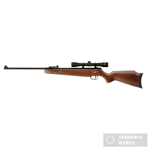 Beeman TETON Air Rifle .22 Package w/ 4X32 Scope & Sights 10512