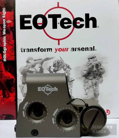 EOTech Holographic Weapon Sight TAN 68 / 1 MOA XPS2-2TAN