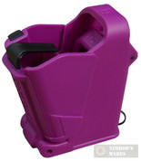 MAGLULA UpLula Pistol Loader Unloader 9mm-45ACP PURPLE UP60PR