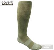 Covert Threads DESERT Military Boot Socks LG FOL 5157