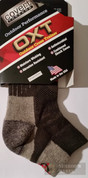 Covert Threads Outdoor Cross Trainer SOCKS LG Char/Gry 7182