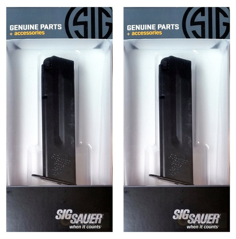 SIG SAUER P226 P226R 40S&W 357SIG 10 Round Magazines 2-PACK MAG-226-43-10
