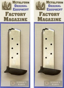 Metalform Sig Sauer P238 .380 7 Round Extended Magazine 380793SSE 2-Pack