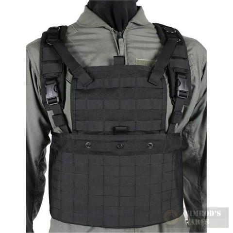 BLACKHAWK S.T.R.I.K.E. Commando Recon CHEST HARNESS BLK 37CL01
