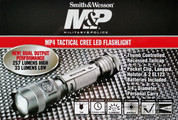 S&W MP4 Tactical LED Flashlight 257/33 Lumens + Holster SWL1004CREE