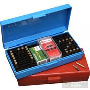 MTM Case-Gard 17 / 22 Rimfire Ammo BOX Blue SB20020