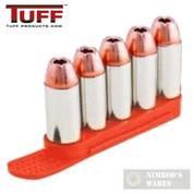 TUFF 7002OR5357 QuickStrips 5Rd .357 .38 .40S&W 6.8mm ORANGE 2Pk Reloader