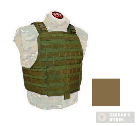 BDS Tactical Stacker Plate Carrier with CummerBund System TAN SPCR