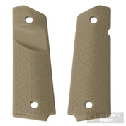 MAGPUL Full-Size 1911 Pistol Ambi-Safety GRIP PANELS MAG524-FDE