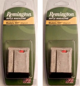 2-PACK REMINGTON 19653 MODEL 597 17HMR 22WMR 8 Round Magazines