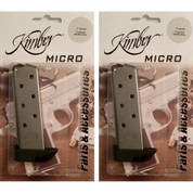 2-PACK KIMBER 1911 MICRO .380 ACP 7 Round FACTORY Magazines 1200164A