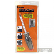"LYMAN MAGDRIVER Screwdriver w/ 8 Bits ""Portable Gunsmith"" 7031268"