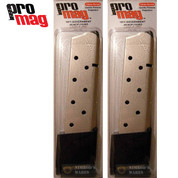 ProMag 1911 GOVERNMENT .45 ACP 10 Round MAGAZINE 2-PACK COL04N