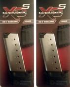 2-PACK Springfield XD-S XDS 45 ACP 7 Round Magazines XDS50071