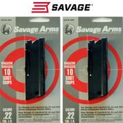 SAVAGE Stevens Lakefield 62 64 954 22LR 10 Round Magazine 2-PACK 30005