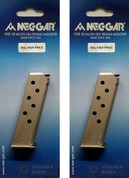 WALTHER PPK/S 380ACP Nickel 7Rd Magazines MGWPPKSSTN 2-PACK