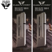 Wilson Combat 1911 ETM Elite Tactical 9mm 10 Round Magazine 2-PACK 500-9