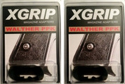 X-Grip WPPK 2-PACK Use Walther PPKS Magazine in PPK: Increase to 7rds!