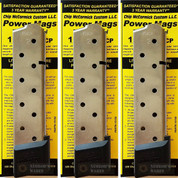 3-PACK Chip McCormick PowerMag 1911 .45 ACP 10 Round Magazines 15150
