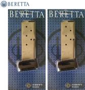 Beretta JM8NANO9 BU9 NANO 9mm 8Rd Magazine 2-PACK