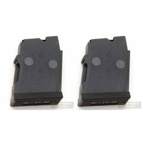 CZ 12003 452/453/455 ZKM Rifle 22LR 5Rd Polymer Magazine 2-PACK