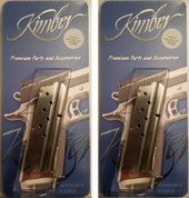 Kimber 1000139A 2-PACK 1911 9mm 8Rd Magazines Compact/Ultra/Colt Officer
