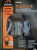 WALKER's RAZOR Slim Shooter Low Profile EARMUFFS NRR 23dB GWP-RSEM