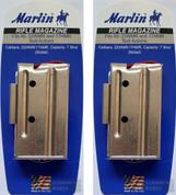 Marlin Bolt Action 22WMR 22M 17HMR 7-Round Nickel Magazine 2-PACK 71922