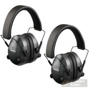 CHAMPION Shooter's Electronic Ear Muffs 2-PACK Collapsible 25db 40974