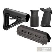 MAGPUL AR-15/M4 M-LOK Mil-Spec BLACK KIT: MAG400 MAG424 MAG415 MAG597