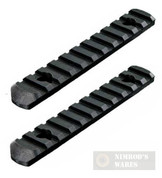 MAGPUL MOE Polymer Rail Section 11-Slots (L5) MAG409-BLK 2-PACK