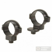 "LEUPOLD QR 1"" Medium Extension Scope Rings Matte Black 49976"