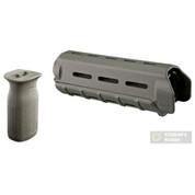 MAGPUL MOE Carbine-Length HANDGUARD + MVG Vertical GRIP COMBO AR/M4 Foliage Green MAG440-FOL MAG413-FOL