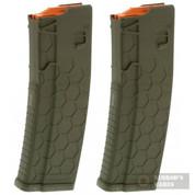 """HexMag AR-15 """"Series 2"""" .223 5.56 10 Round Magazine 2-PACK HX1030-AR15S2-ODG"""