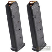 MAGPUL PMAG 21 GL9 ALL GLOCK 9mm 21 Round MAGAZINE 2-PACK MAG661-BLK
