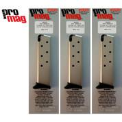 PROMAG BRA01N Bersa 383A 95 Thunder380 Firestorm .380 7Rd Magazine 3-PACK