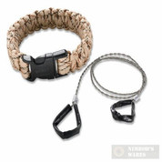 Columbia River Para-Saw Survival Bracelet TAN LARGE 9300TL