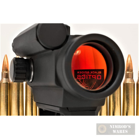 BLACK SPIDER Micro Red Dot SIGHT 3MOA Auto-Dim Low Mount M0129LOW
