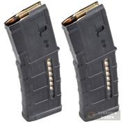 MAGPUL PMAG 30 AR/M4 Gen M3 WINDOW 30 Round 5.56X45mm MAGAZINE MAG556-BLK 2-PACK