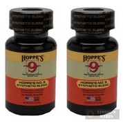 HOPPE'S No. 9 BORE Cleaner SYNTHETIC Blend 5 oz 904BG 2-PACK