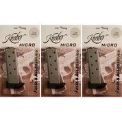 KIMBER 1911 MICRO .380 ACP 7 Round FACTORY Magazine 3-PACK 1200164A
